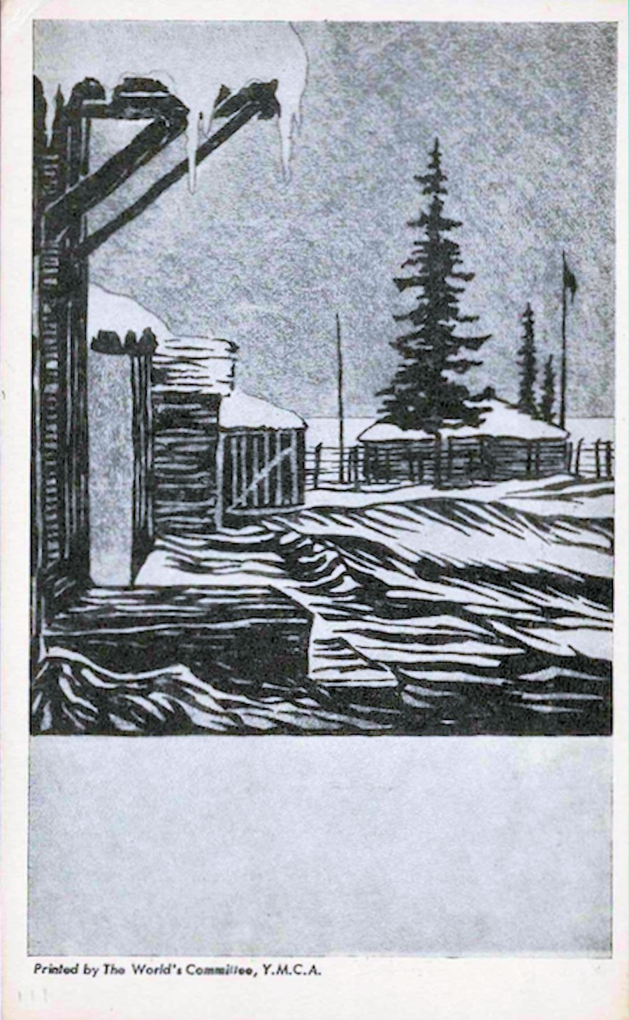 19??;Canada;The World's Committee, YMCA ; WW II-Era Christmas POW Card