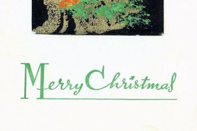 christmas card from vietnam 1965