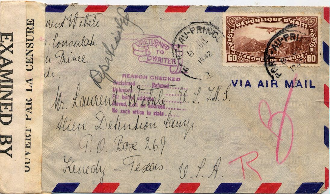 cover mailed on the mercy ship