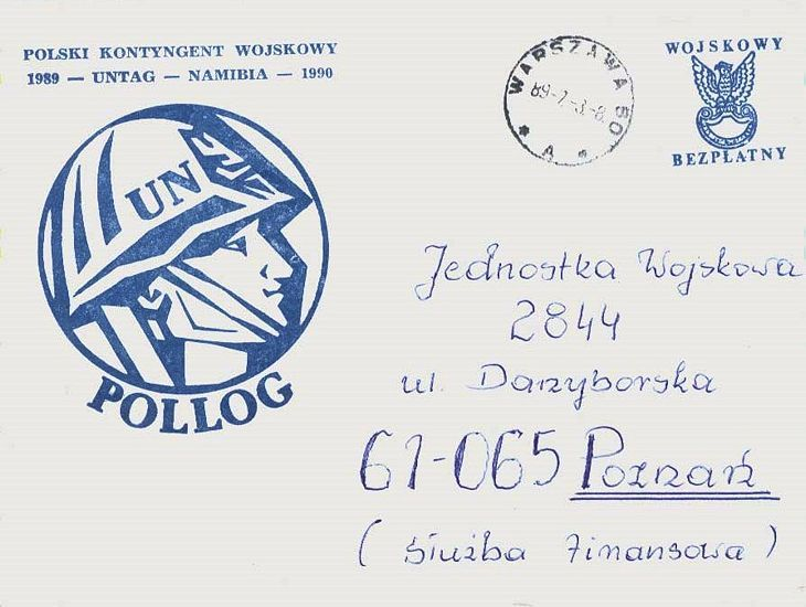cover from polish soldier on un duty